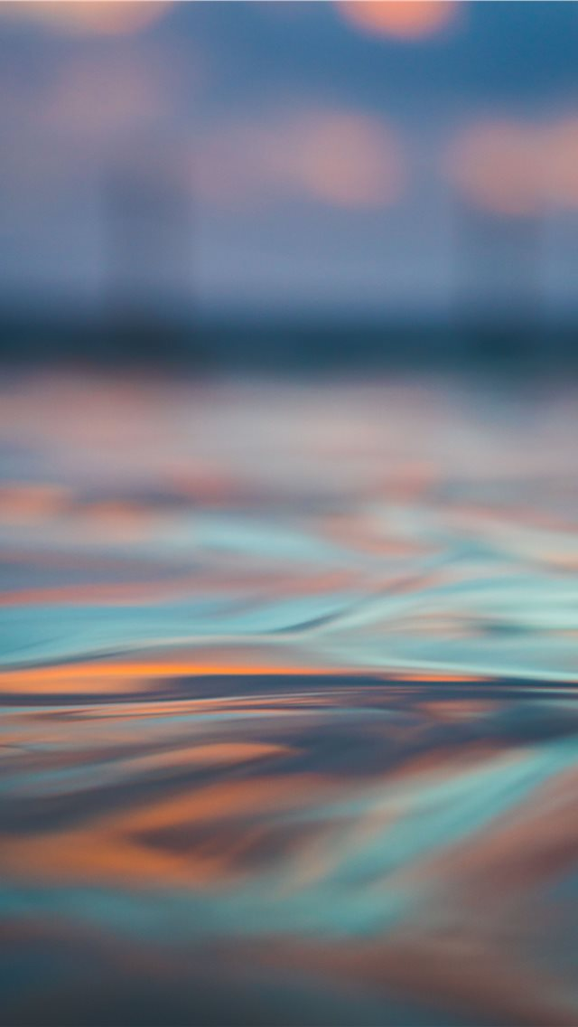 long exposure photography of body of water iPhone wallpaper