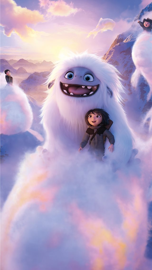 2019 abominable movie 8k iPhone wallpaper