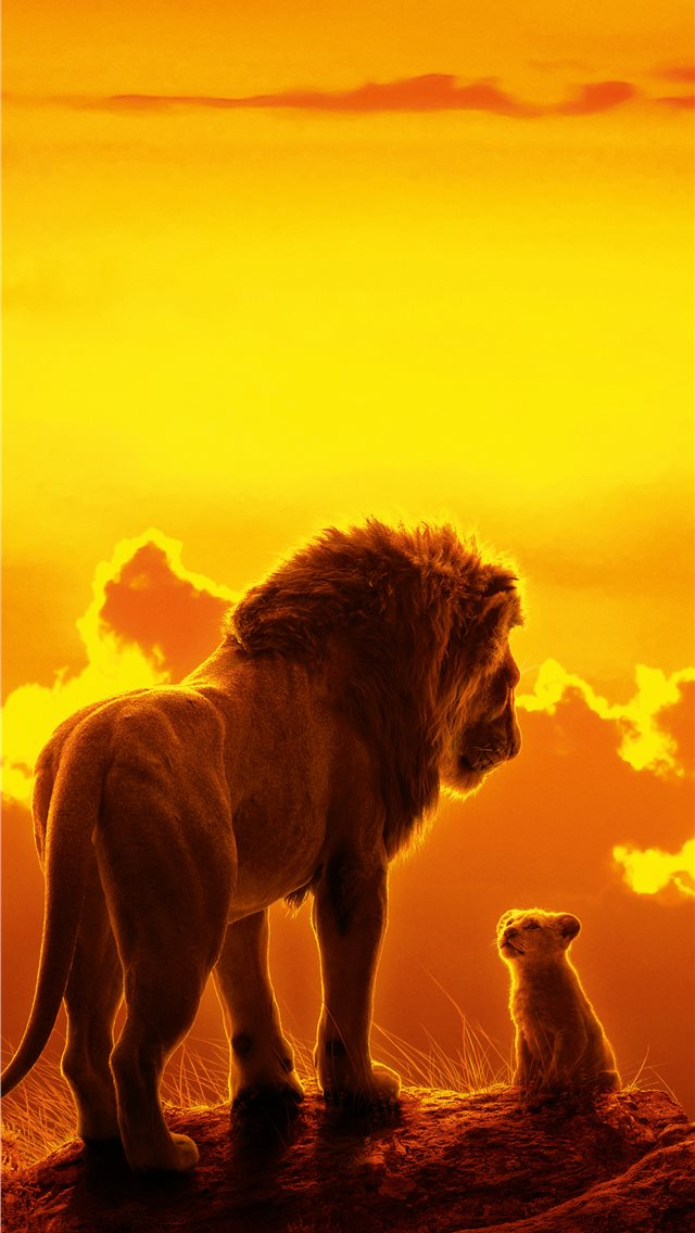 the lion king movie 8k iPhone wallpaper