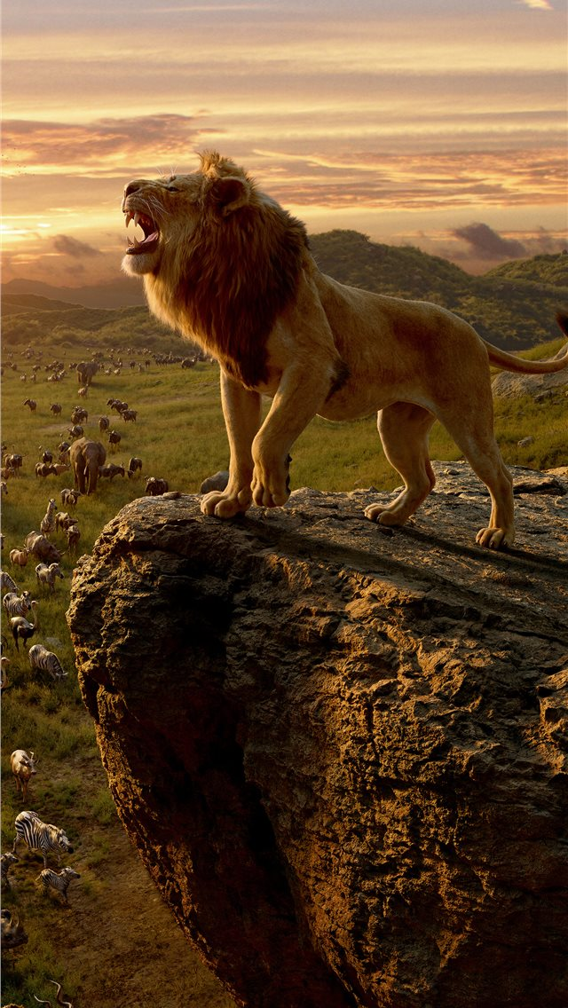 the lion king movie 10k iPhone wallpaper