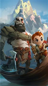 Best God Of War 4 Iphone Wallpapers Hd Ilikewallpaper