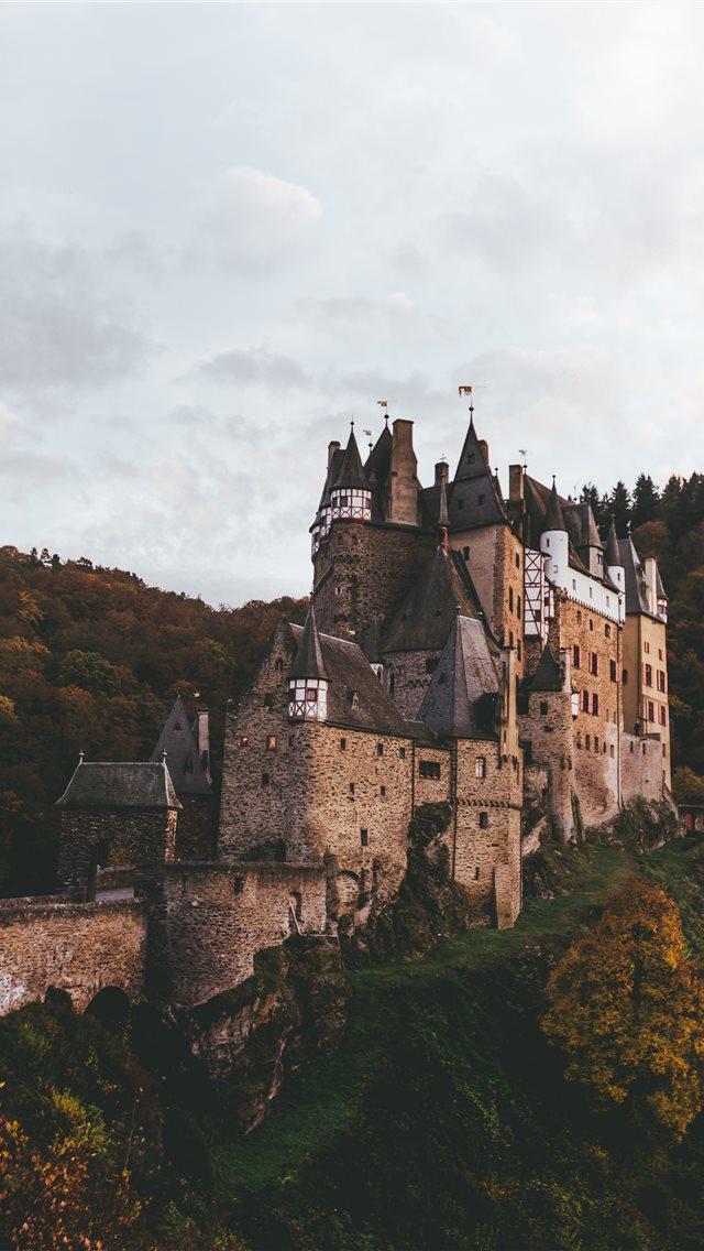 brown castle iPhone wallpaper