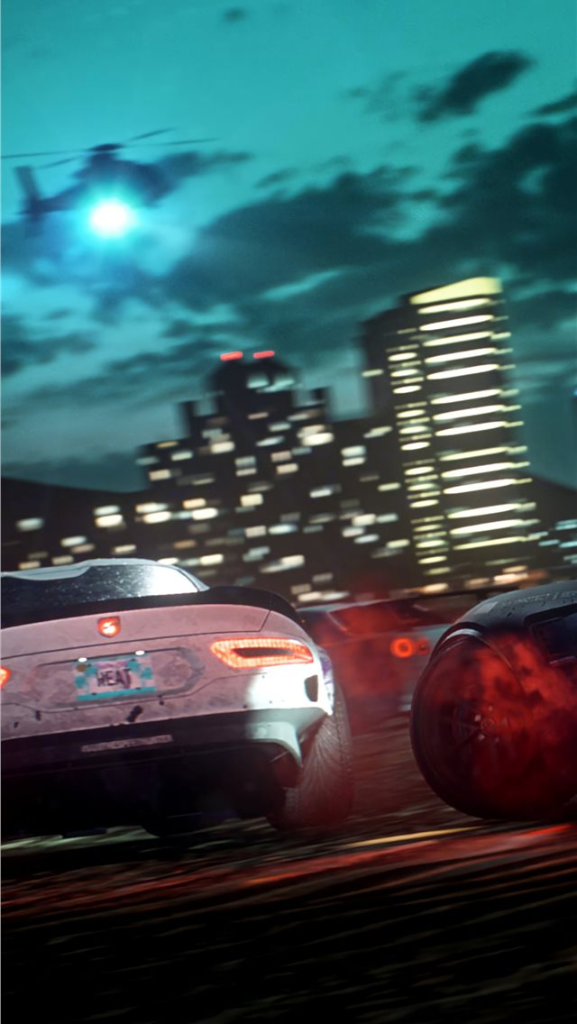 4k need for speed heat iPhone wallpaper
