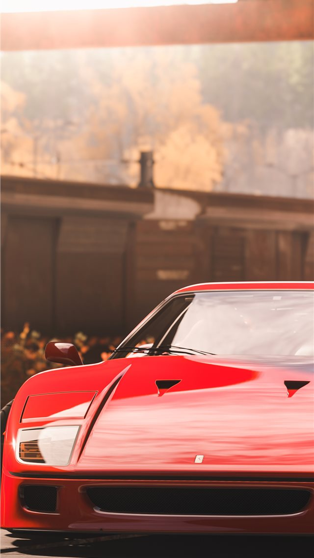 forza horizon 4 ferrari 5k iPhone wallpaper