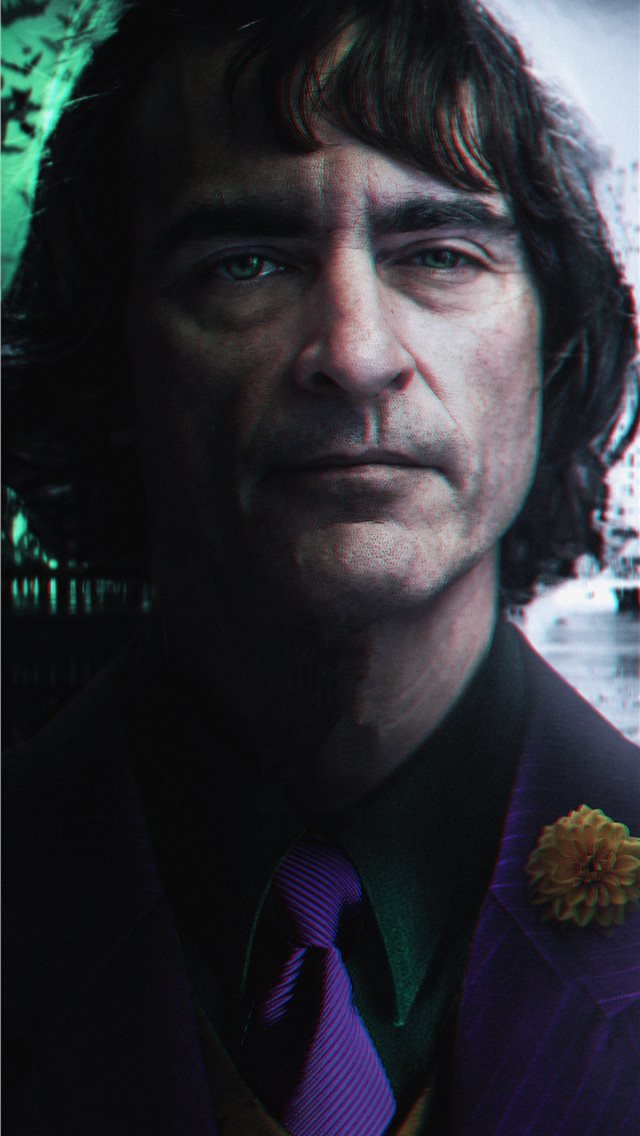 the joker joaquin phoenix 4k iPhone wallpaper