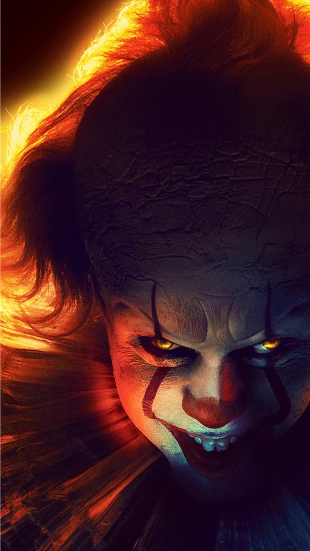 it chapter two 2019 4k pennywise iPhone wallpaper