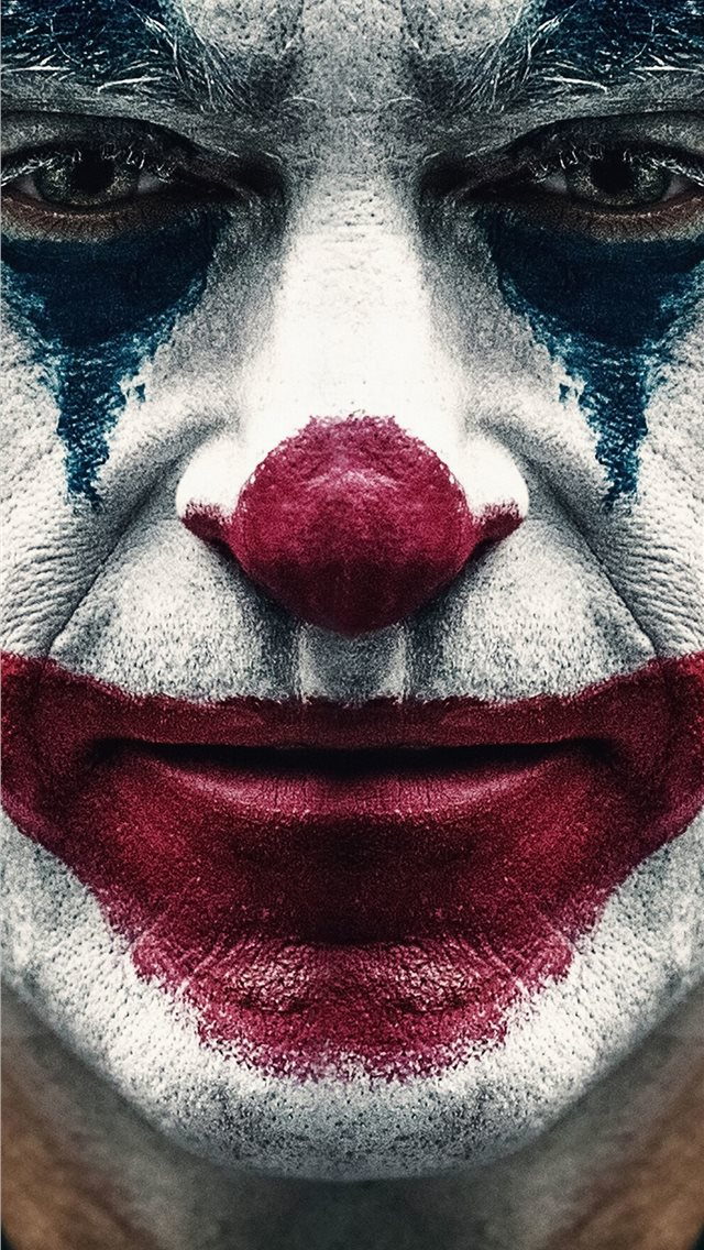 joker 2019 joaquin phoenix clown iPhone wallpaper