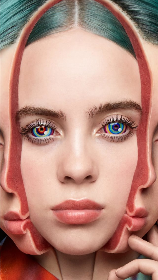 billie eilish singer iPhone wallpaper