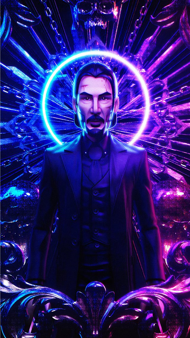 john wick chapter 3 4k iPhone wallpaper
