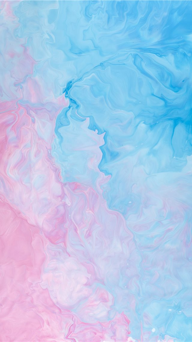 pink and blue abstract painting iPhone wallpaper