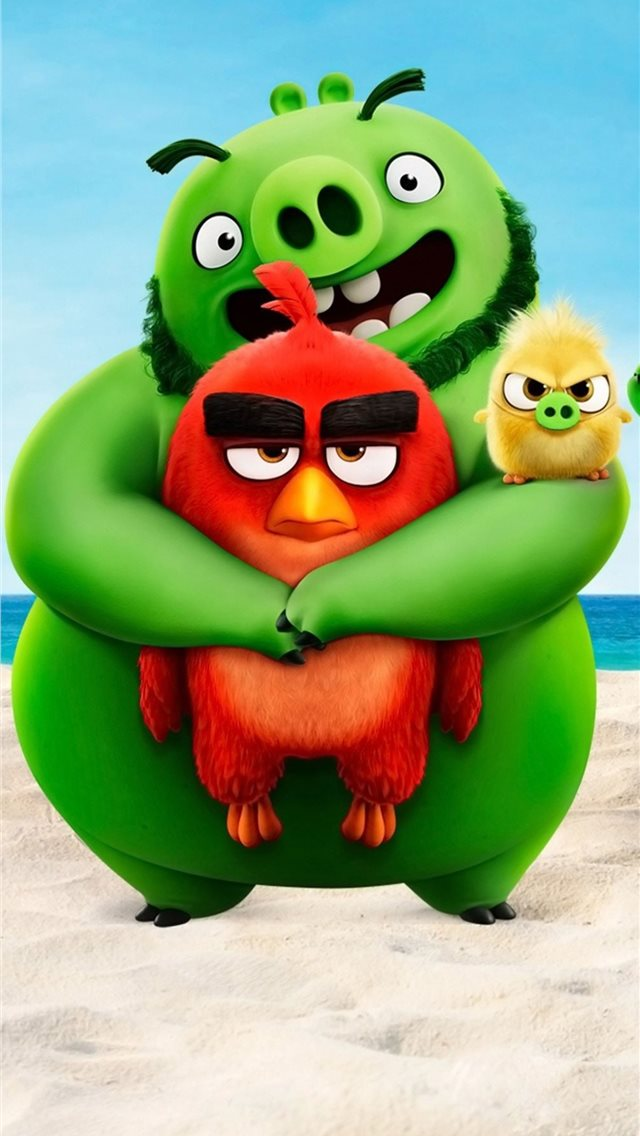 the angry birds movie 2 2019 4k iPhone wallpaper