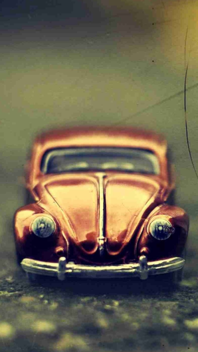 Volkswagen Beetle Toy iPhone wallpaper