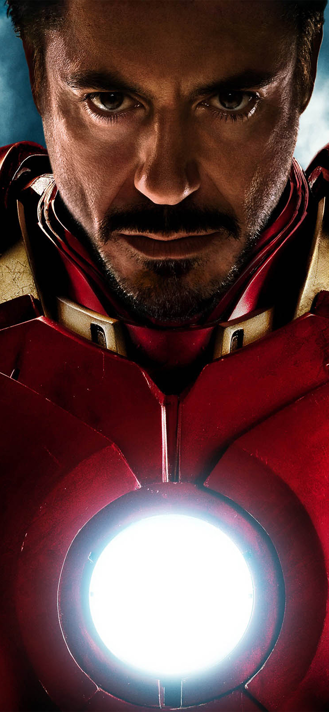 Ironman angry hero superhero red avengers iPhone wallpaper