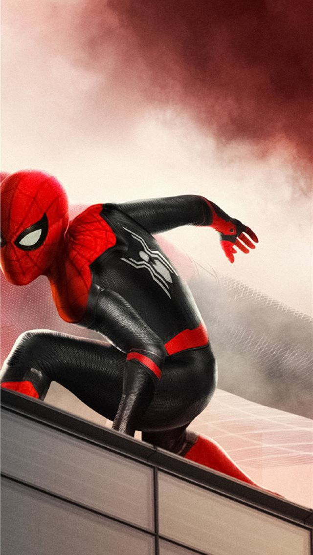 4k spider man far fromhome iPhone wallpaper