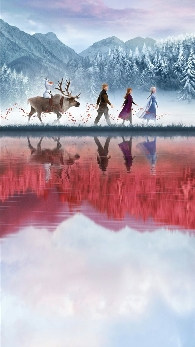 frozen 2 2019 4k iPhone wallpaper