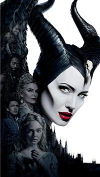 Elle Fanning As Princess Aurora In Maleficent Mist Iphone