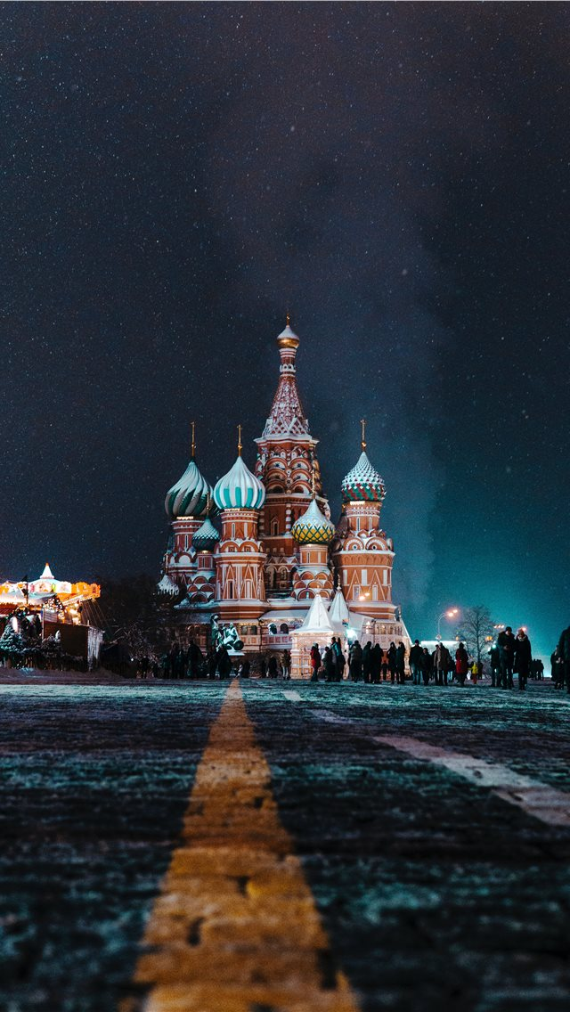 St Basils Cathedral iPhone wallpaper
