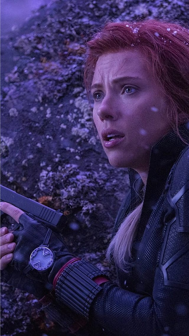 Black Widow In Avengersendgame Iphone Wallpapers Free Download