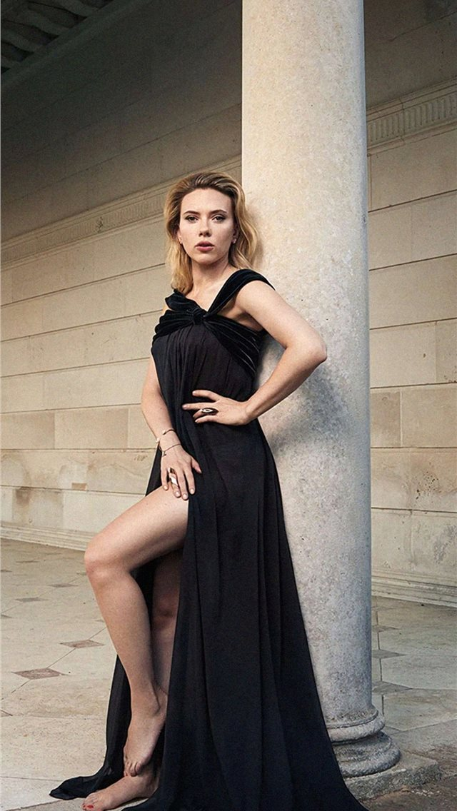 scarlett johansson the hollywood reporter photosho... iPhone wallpaper