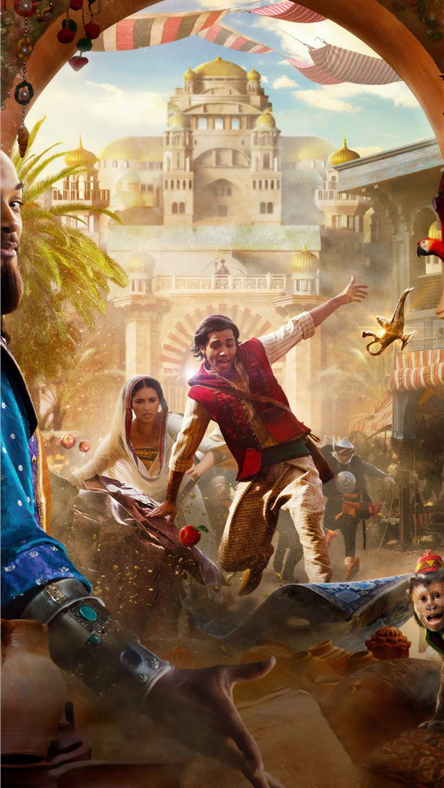 Aladdin 2019 4k Iphone Wallpapers Free Download