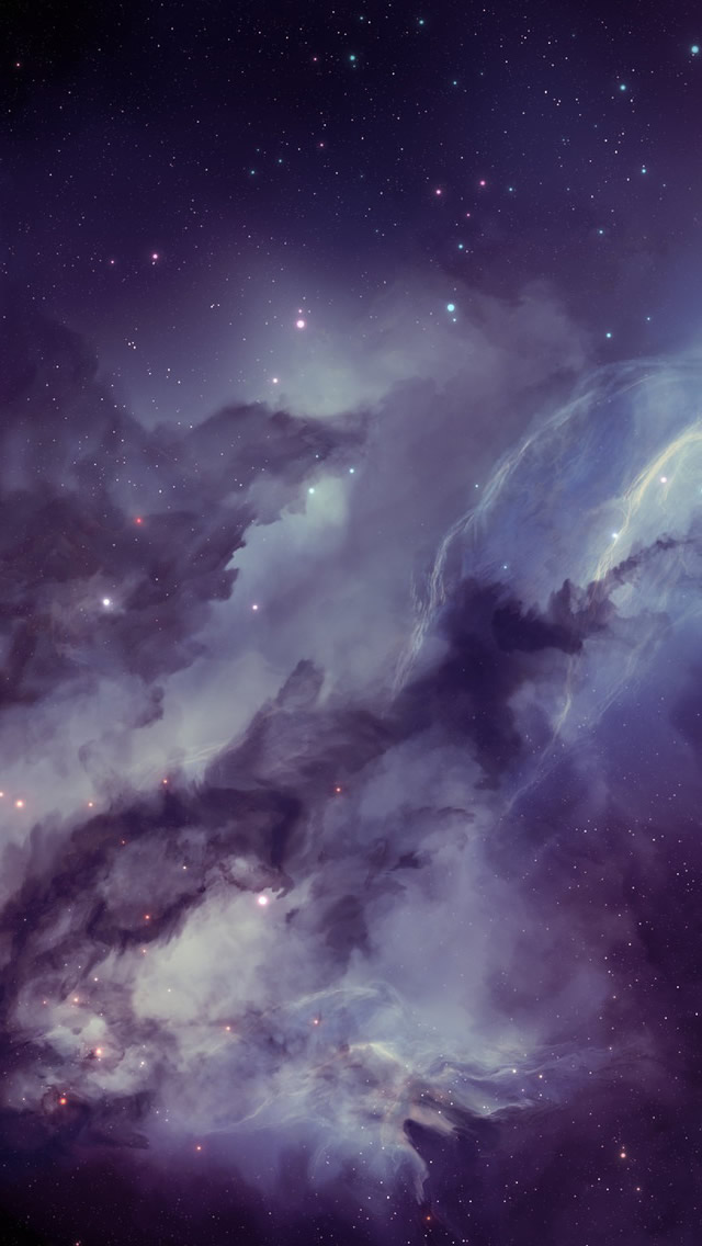 Nebula iPhone wallpaper