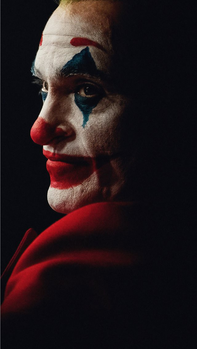 the joker joaquin phoenix dark 4k iPhone wallpaper