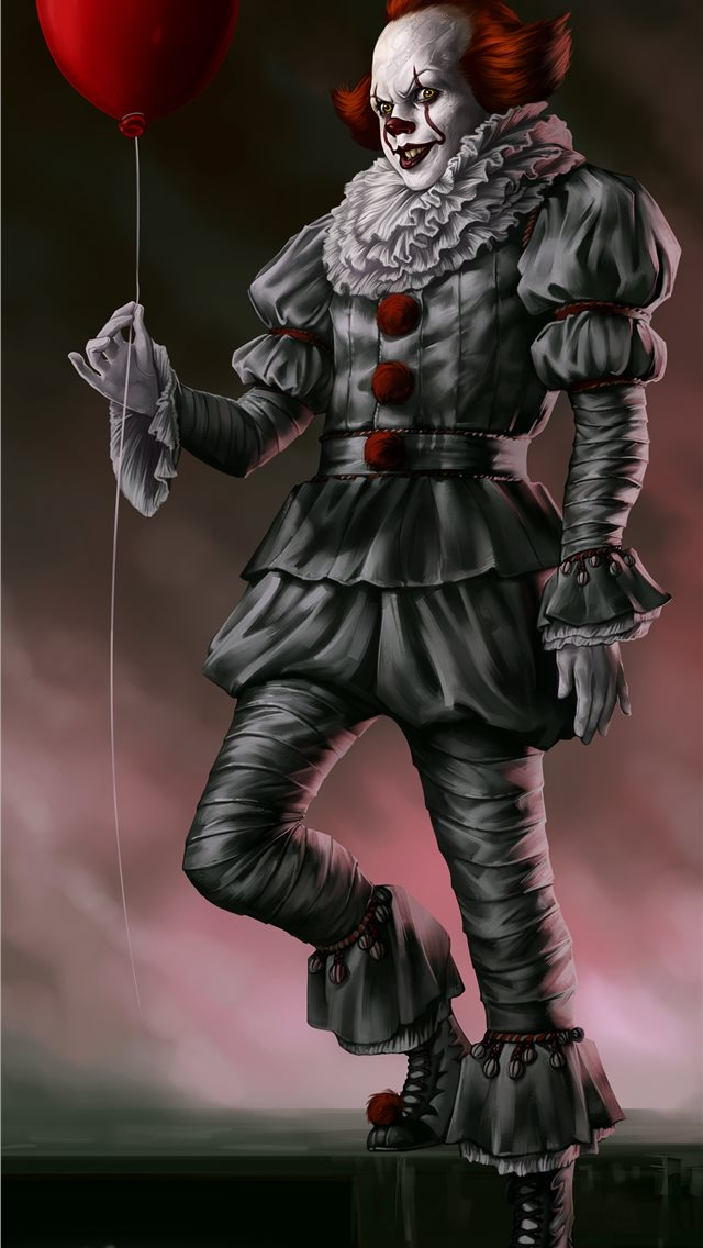 pennywise the dancing clown iPhone wallpaper