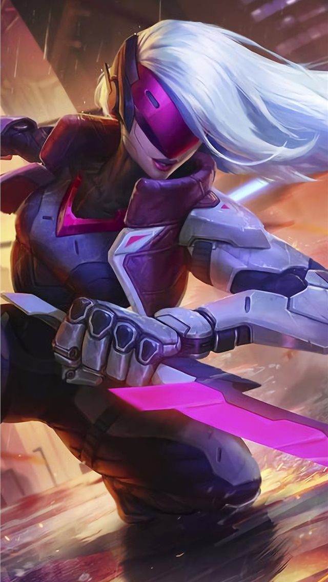 project katarina league of legends 4k iPhone wallpaper
