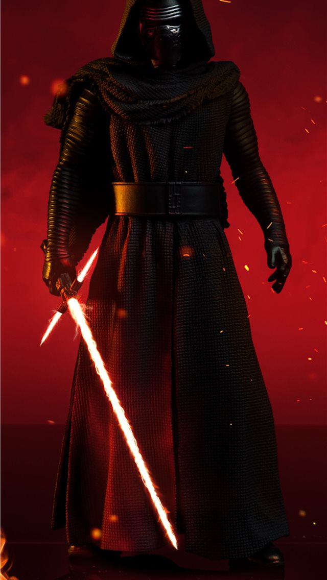 cgi kylo ren iPhone wallpaper