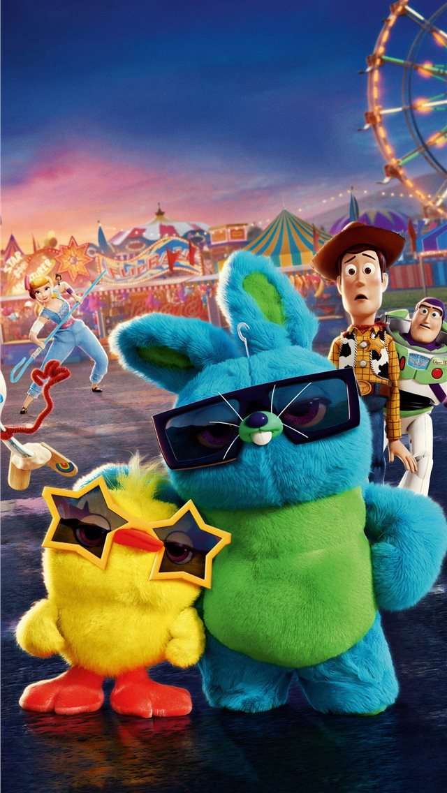 2019 toy story 4 4k iPhone wallpaper