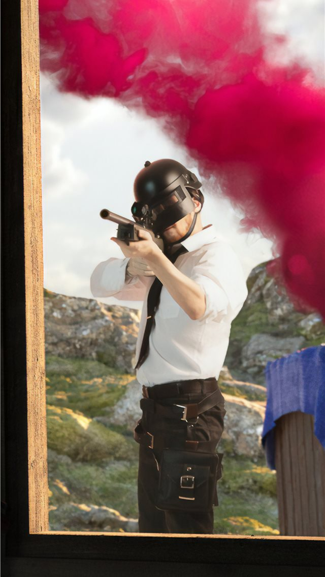pubg shooting range iPhone wallpaper