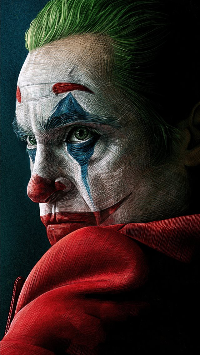 joker movie 4k artwork iPhone wallpaper