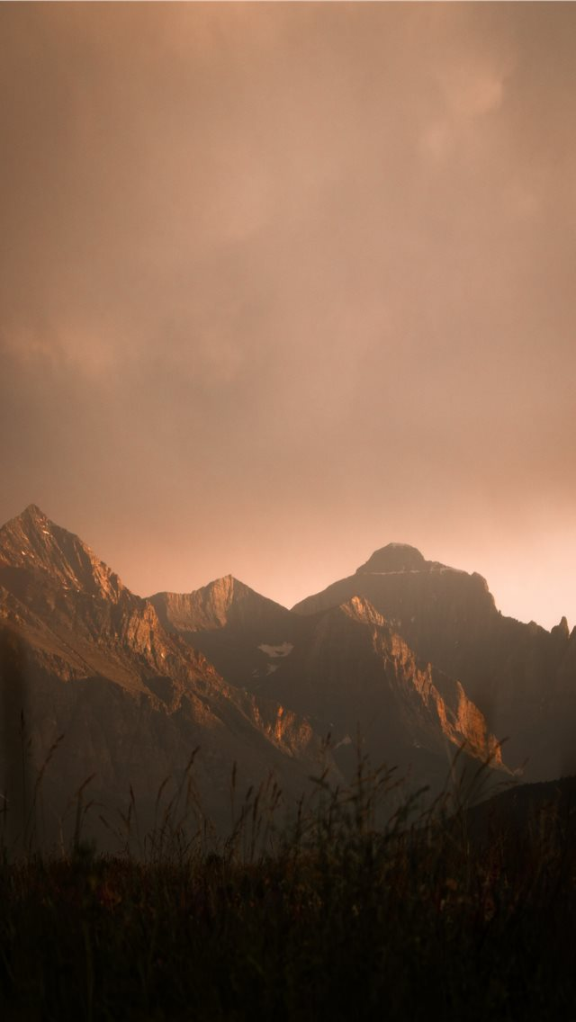 brown rock mountain iPhone wallpaper