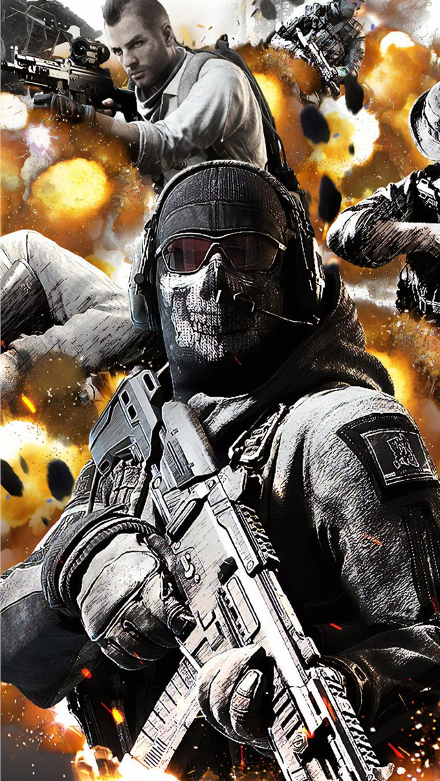 call of duty mobile 4k iPhone wallpaper
