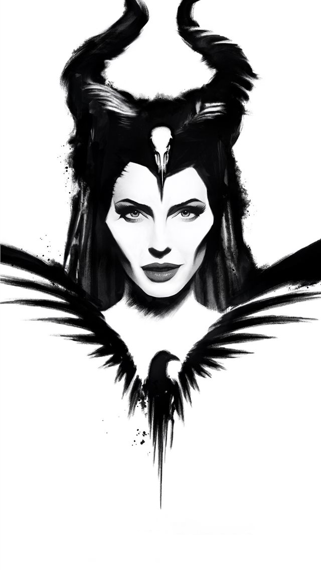 maleficent mistress of evil poster 4k iPhone wallpaper