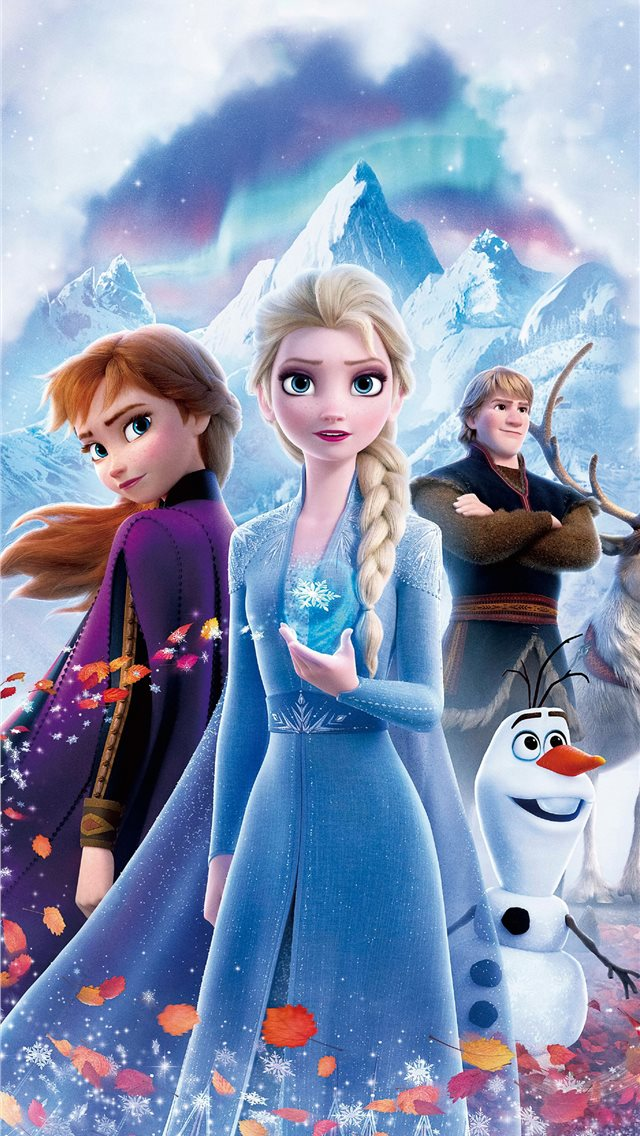 frozen 2 poster 4k iPhone wallpaper