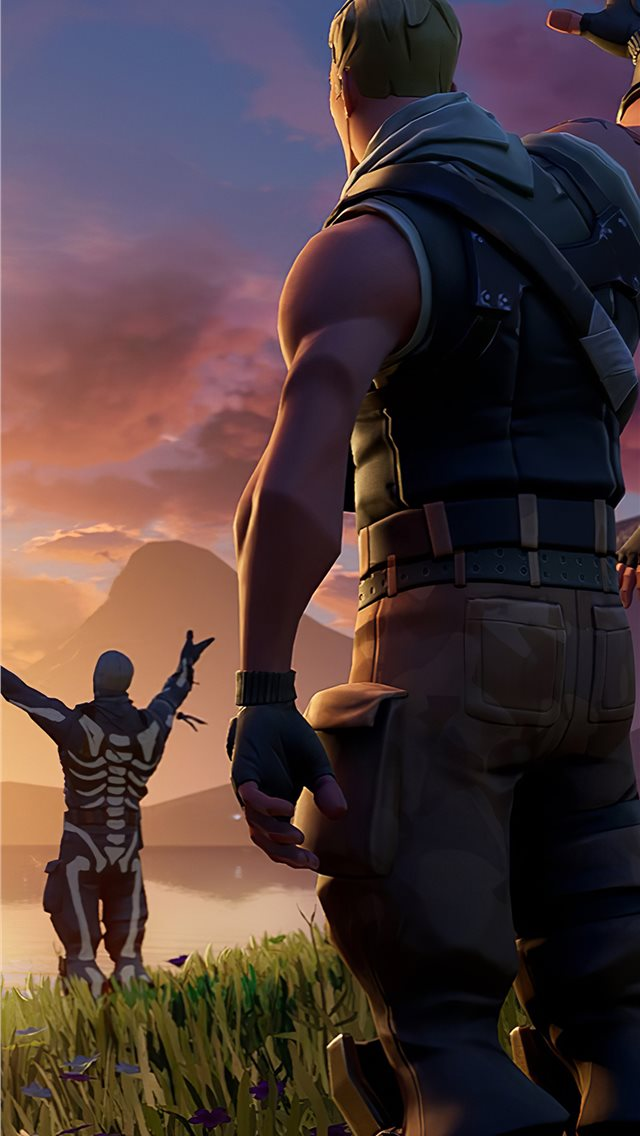 fortnite chapter 2 iPhone wallpaper