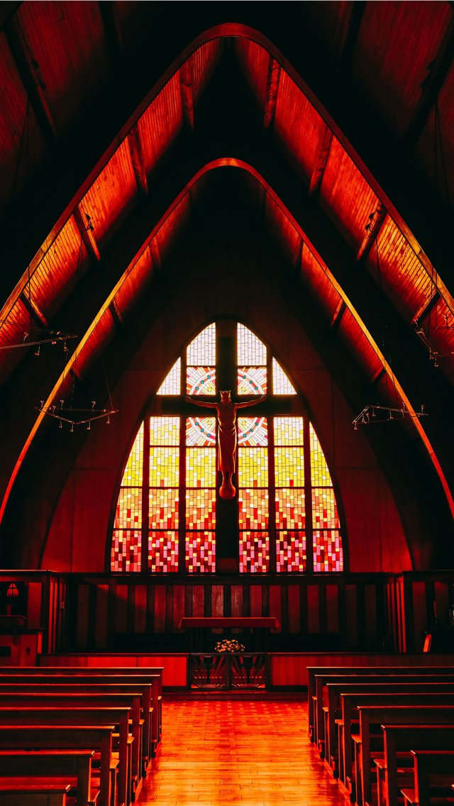 red painted pew iPhone wallpaper
