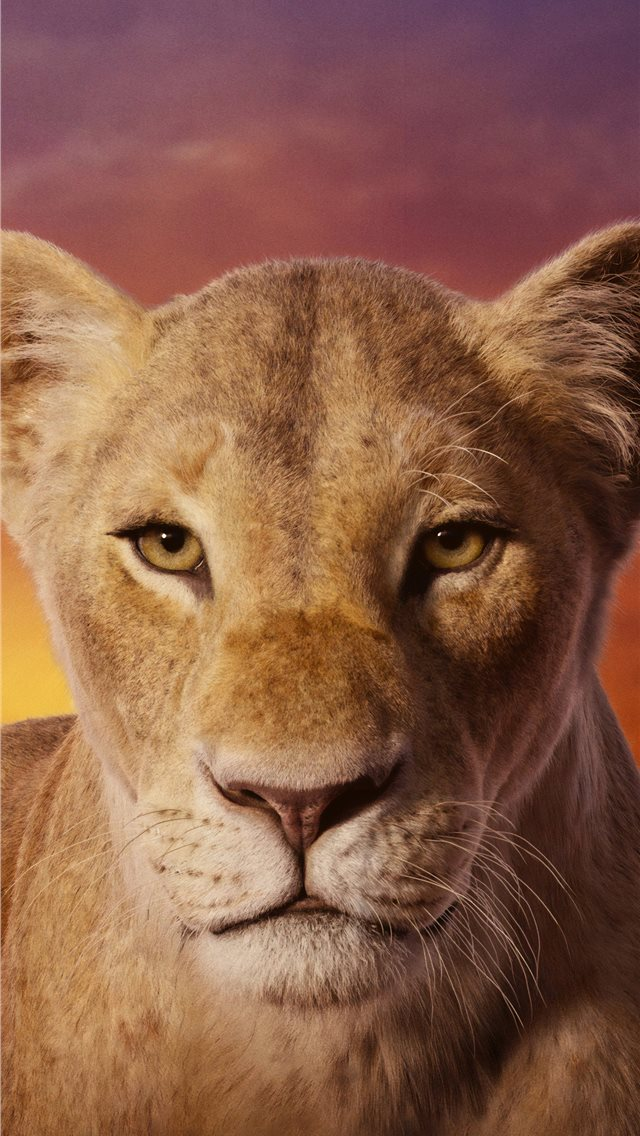 beyonce as nala the lion king 2019 4k iPhone wallpaper