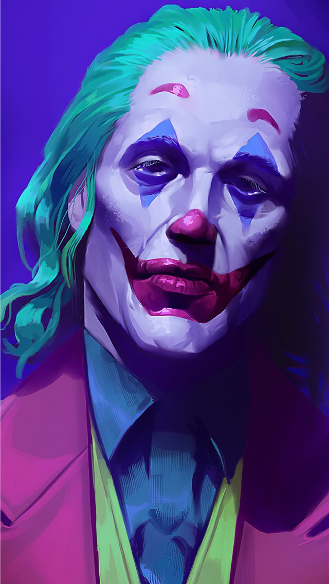 joker 2019 art iPhone wallpaper