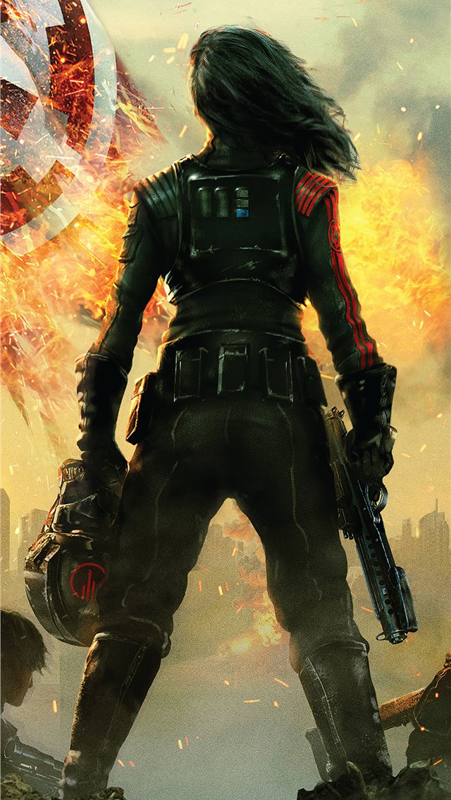 star wars battlefront ii inferno squad 4k iPhone wallpaper