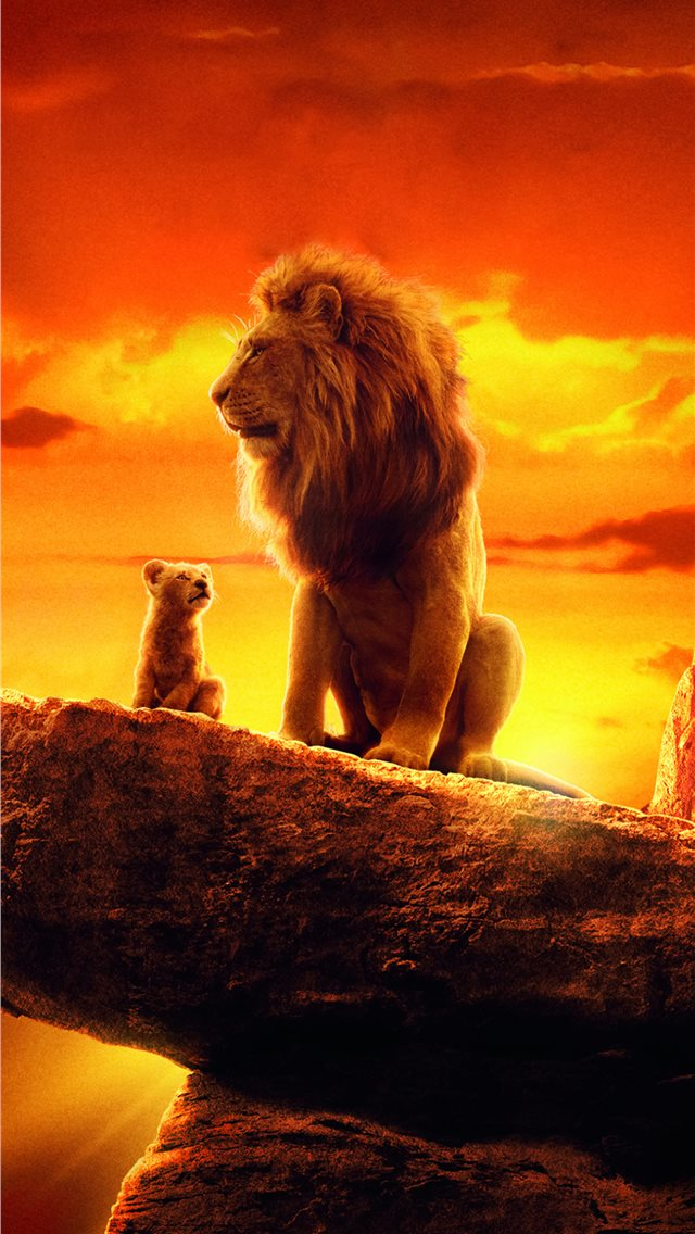 the lion king 2019 4k movie iPhone wallpaper