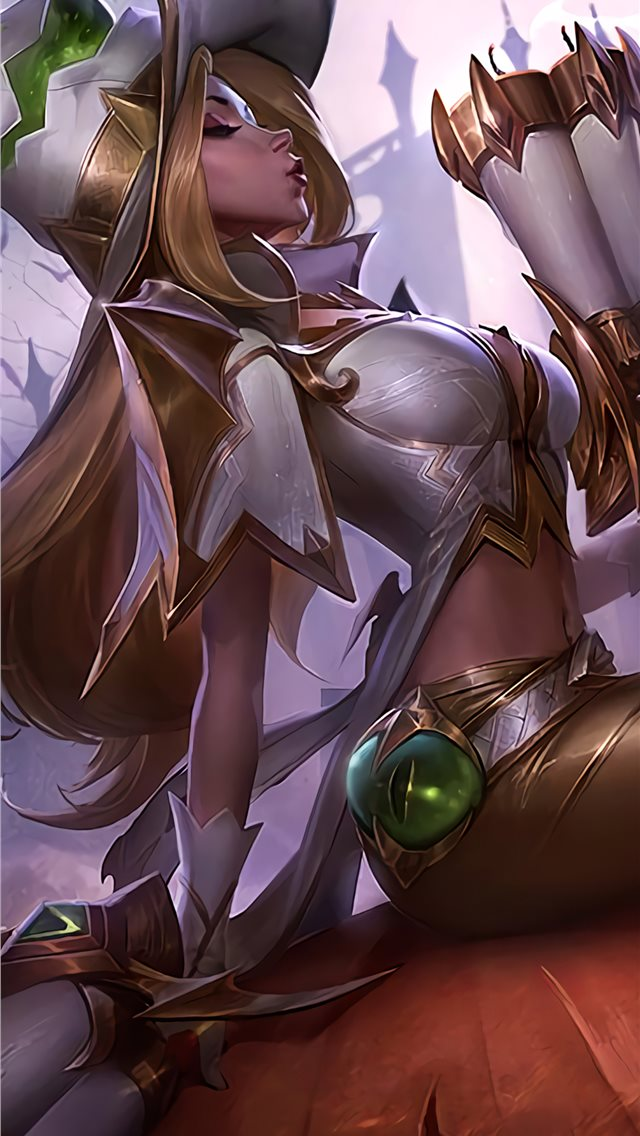 miss fortune league of legends fantasy 4k iPhone wallpaper