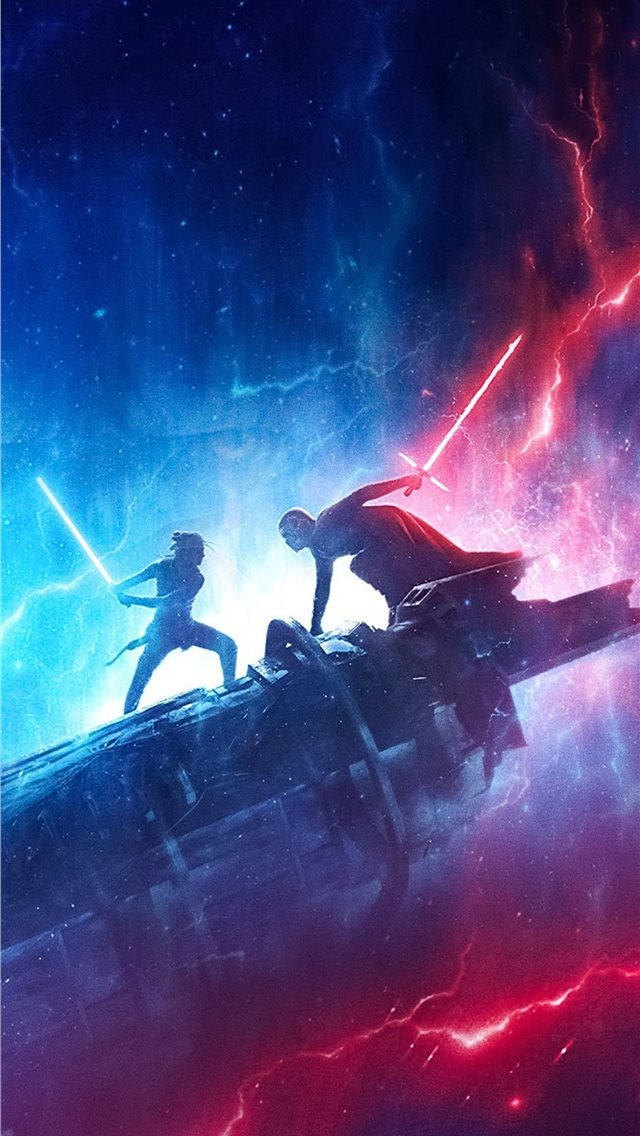 star wars the rise of skywalker new 5k iPhone wallpaper