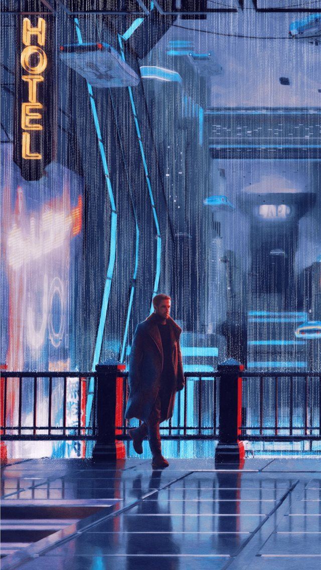 blade runner 2049 arts iPhone wallpaper
