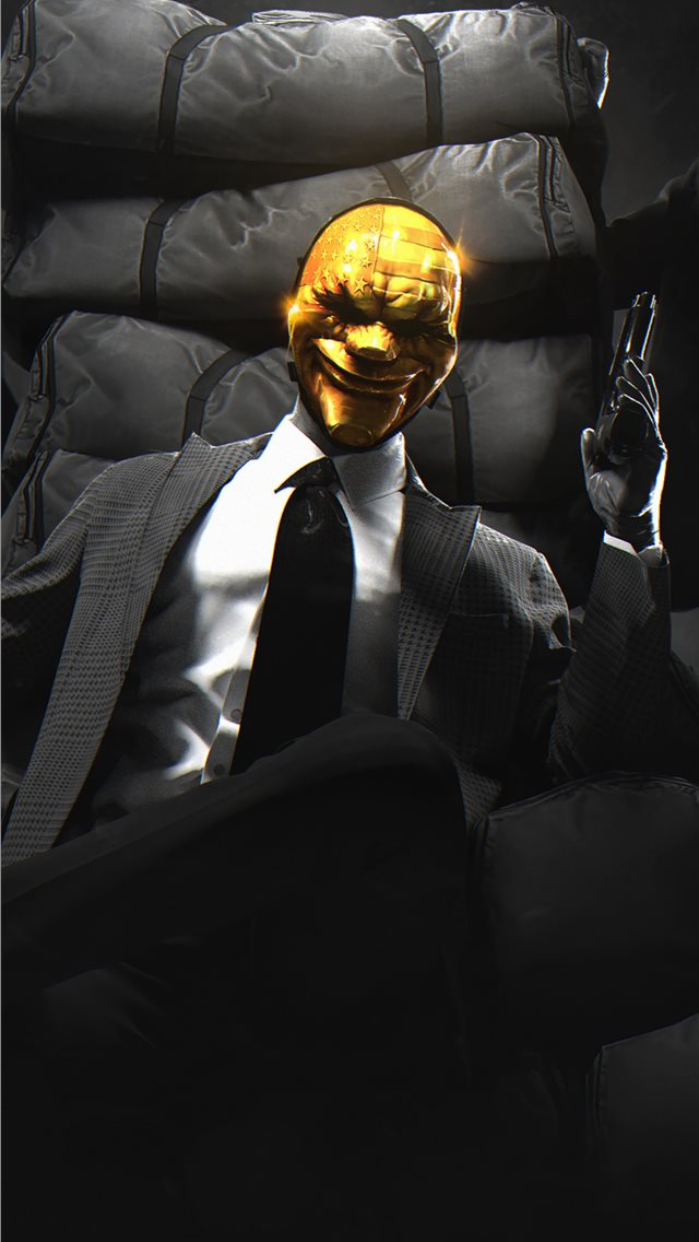 payday gold crew iPhone wallpaper