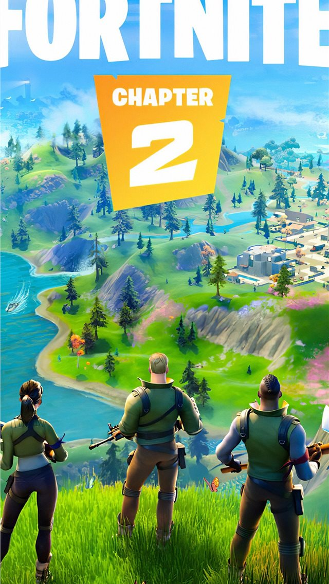 fortnite chapter 2 2019 4k iPhone wallpaper