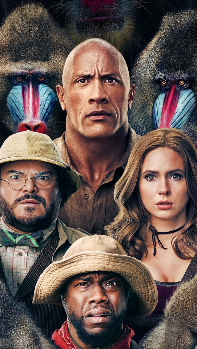 jumanji the next level 2019 poster iPhone wallpaper