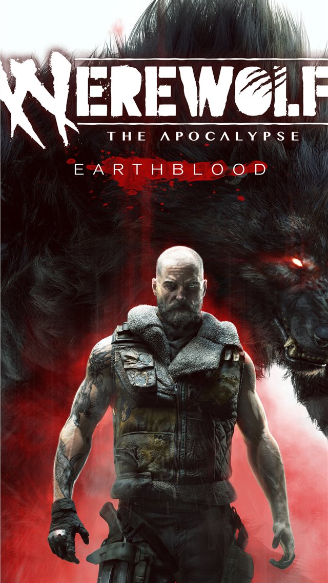 werewolf the apocalypse earthblood 2020 4k iPhone wallpaper