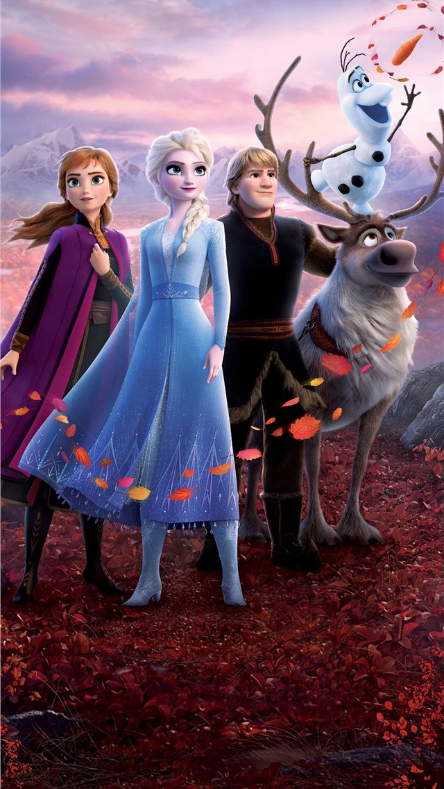 frozen 2 2019 5k movie iPhone wallpaper